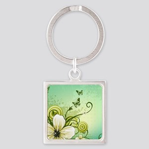 Flower and Butterflies Keychains