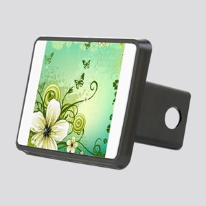 Flower and Butterflies Hitch Cover