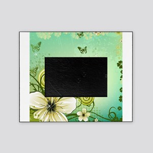 Flower and Butterflies Picture Frame
