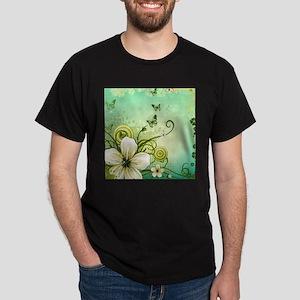 Flower and Butterflies T-Shirt