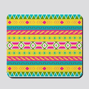 Tribal Brights Mousepad
