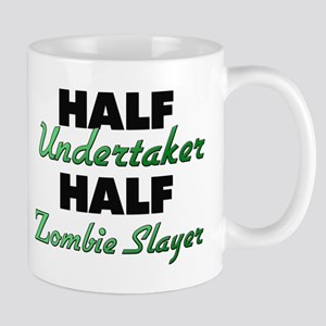Half Undertaker Half Zombie Slayer Mugs