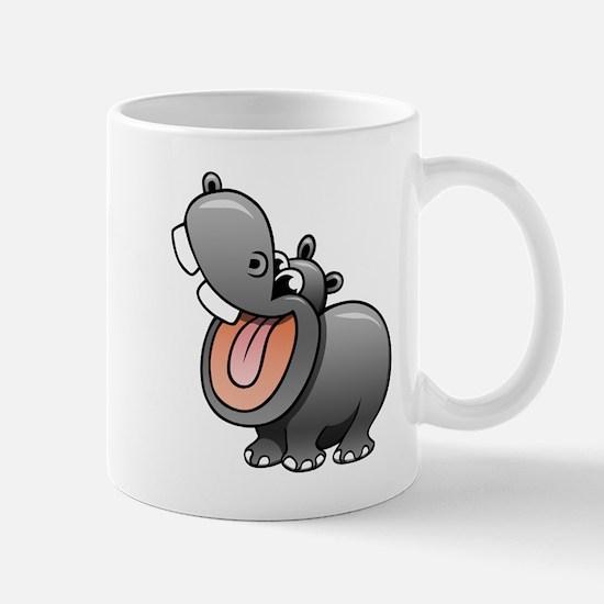 Cartoon Hippopotamus Mugs