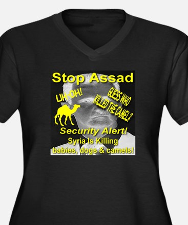 Stop Assad Syria Killing Babies, Dogs & Camels Wom