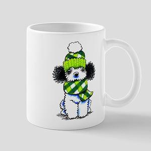 Parti Poodle Scarf Mug