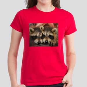 Raccoon Women's Dark T-Shirt