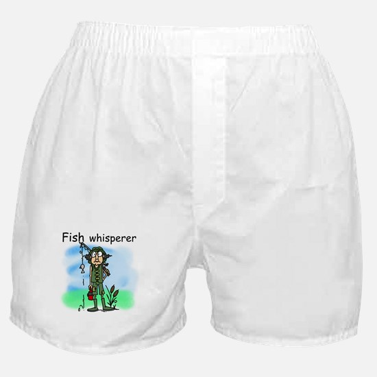 Fish Whisperer Boxer Shorts