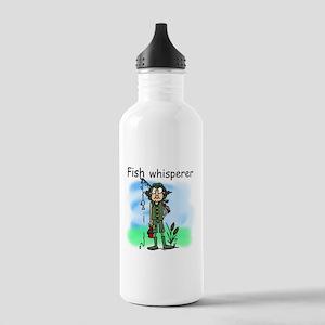 Fish Whisperer Stainless Water Bottle 1.0L