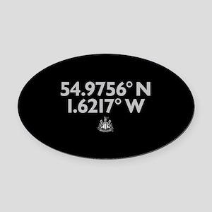 Oval Car Magnet
