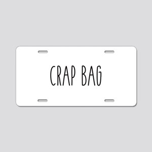 Friends - Crap Bag Aluminum License Plate