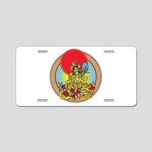 Green Tara Aluminum License Plate