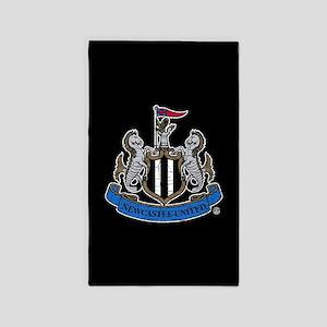 Vintage Newcastle United FC Crest Area Rug
