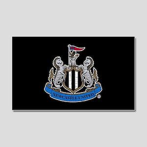 Vintage Newcastle United FC Cre Car Magnet 20 x 12