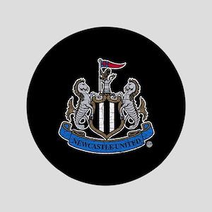 Vintage Newcastle United FC Crest Button