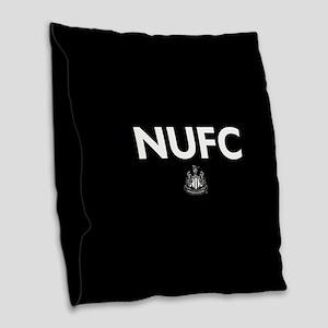 Newcastle United FC- Full Blee Burlap Throw Pillow