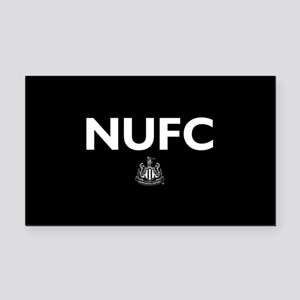 Newcastle United FC- Full Ble Rectangle Car Magnet