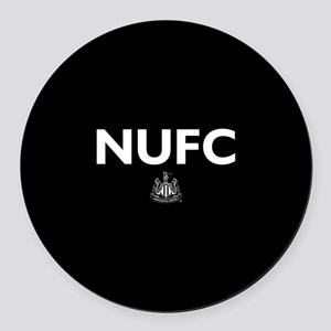 Newcastle United FC- Full Bleed Round Car Magnet