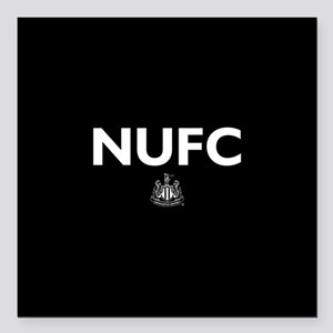"Newcastle United FC- Ful Square Car Magnet 3"" x 3"""