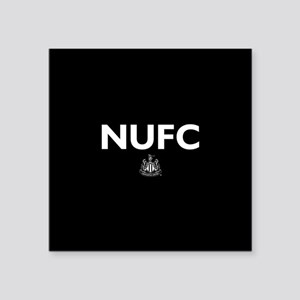 "Newcastle United FC- Full B Square Sticker 3"" x 3"""