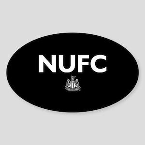 Newcastle United FC- Full Bleed Sticker (Oval)