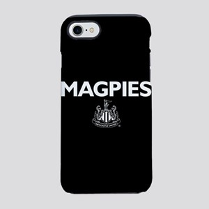 Magpies NUFC- Full Bleed iPhone 7 Tough Case