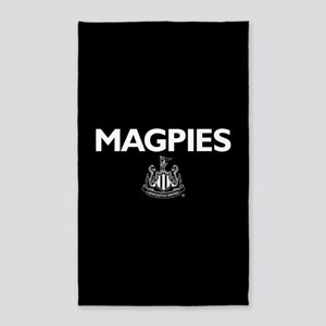 Magpies NUFC- Full Bleed Area Rug