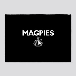 Magpies NUFC- Full Bleed 5'x7'Area Rug