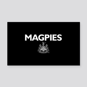 Magpies NUFC- Full Bleed Rectangle Car Magnet