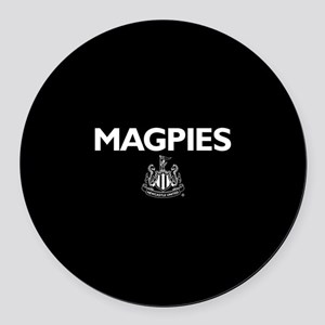 Magpies NUFC- Full Bleed Round Car Magnet