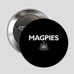 "Magpies NUFC- Full Bleed 2.25"" Button"