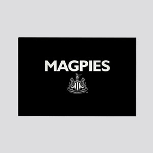 Magpies NUFC- Full Bleed Rectangle Magnet