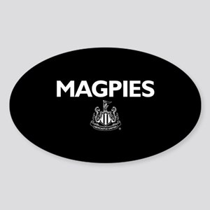 Magpies NUFC- Full Bleed Sticker (Oval)