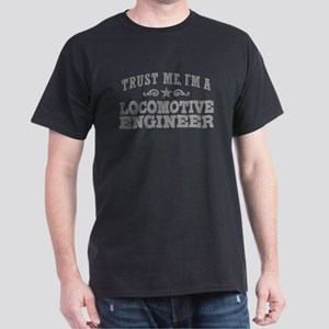 Locomotive Engineer Dark T-Shirt