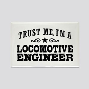 Locomotive Engineer Rectangle Magnet