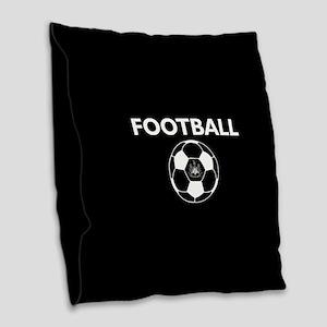 Football Newcastle United FC-F Burlap Throw Pillow