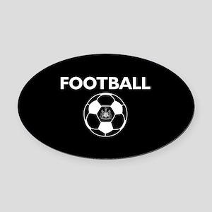 Football Newcastle United FC-Full Oval Car Magnet