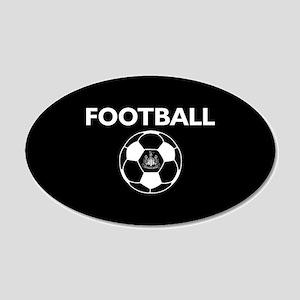 Football Newcastle United FC 20x12 Oval Wall Decal