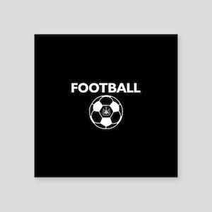 """Football Newcastle United F Square Sticker 3"""" x 3"""""""