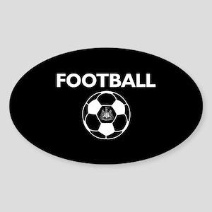 Football Newcastle United FC-Full B Sticker (Oval)