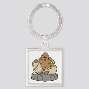 Hotei Square Keychain