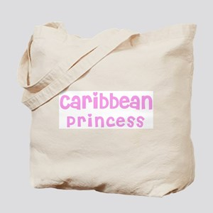 Caribbean Princess Tote Bag