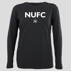 Newcastle United FC Plus Size Long Sleeve Tee