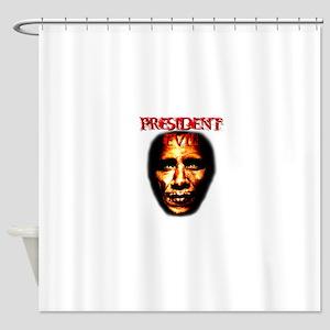 PRESIDENT EVIL Shower Curtain