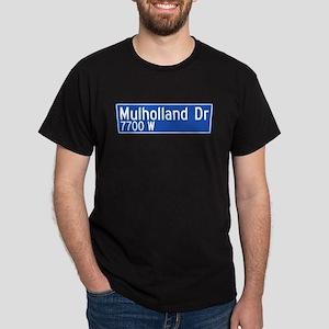 Mulholland Dr., Los Angeles - USA Dark T-Shirt