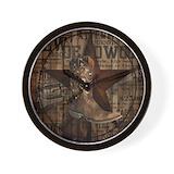 Cowboy Wall Clocks