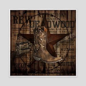 western cowboy Queen Duvet