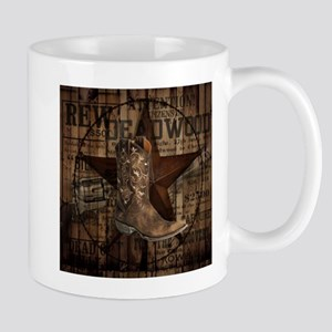 western cowboy Mugs