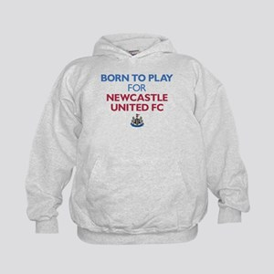 Born To Play For Newcastle United FC Kids Hoodie