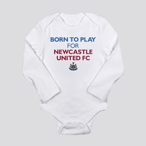 Born To Play For Newca Long Sleeve Infant Bodysuit