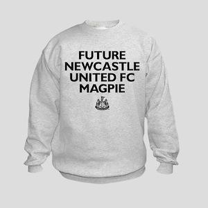 Future Newcastle United FC Magpie Kids Sweatshirt